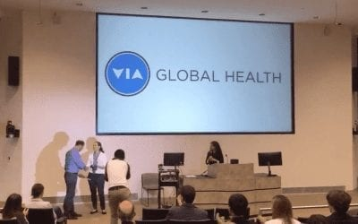 VIA Global Health Presented with 'Leadership and Innovation in Global Health' Award from Rice 360° Institute for Global Health